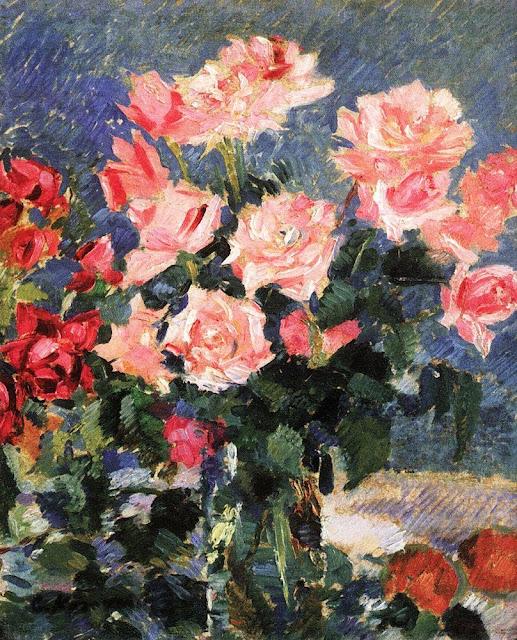 Konstantin Korovin - Roses. 1923-1939