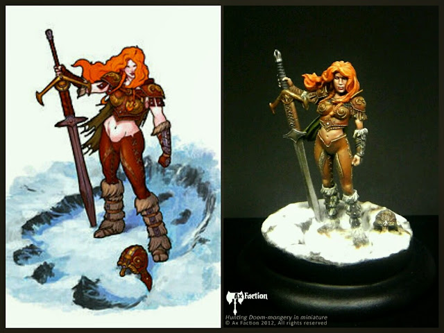 Raen of Rannoch - Giant Hunter Ax Faction Miniatures
