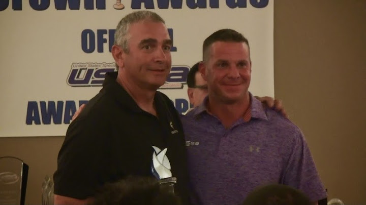 2014 John Glidewell Award given to Billy Messina!