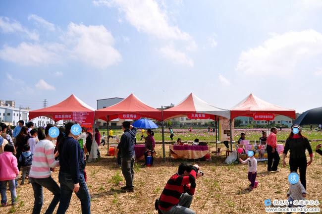 2014小麥文化節 - 麥田區的攤位