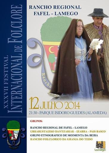 XXXVII Festival de Folclore - Rancho Regional de Fafel - Lamego