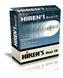 how to install hiren's boot  on USB
