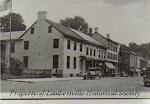 "Marshall House, built 1814, postcard from 1920s: ""Boyhood Home of John Marshall, Lambertville NJ Discoverer of Gold in California."" Note: name is wrong, it's James Marshall."