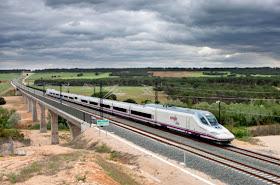 El trayecto en AVE de Madrid a Castellón