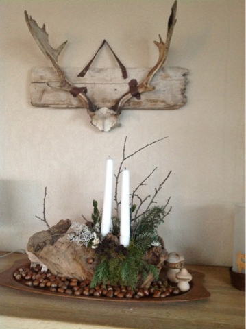 Galleri livoni: juledekorationer i stuen