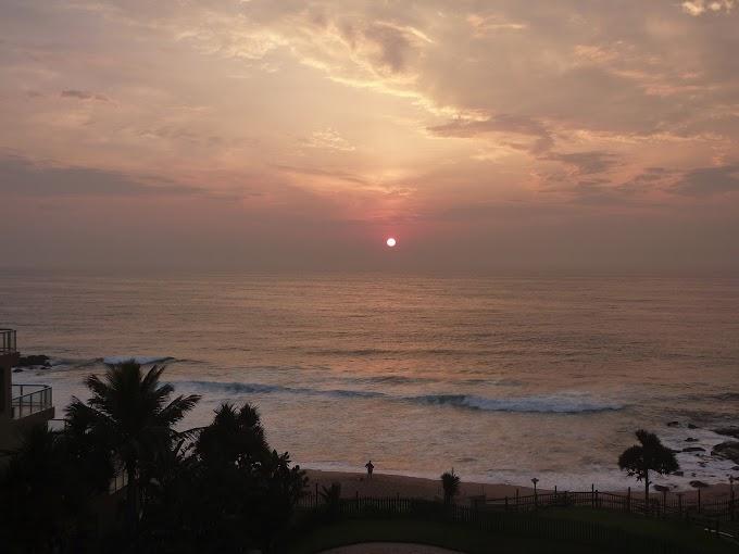 Sunrise over KwaZulu-Natal