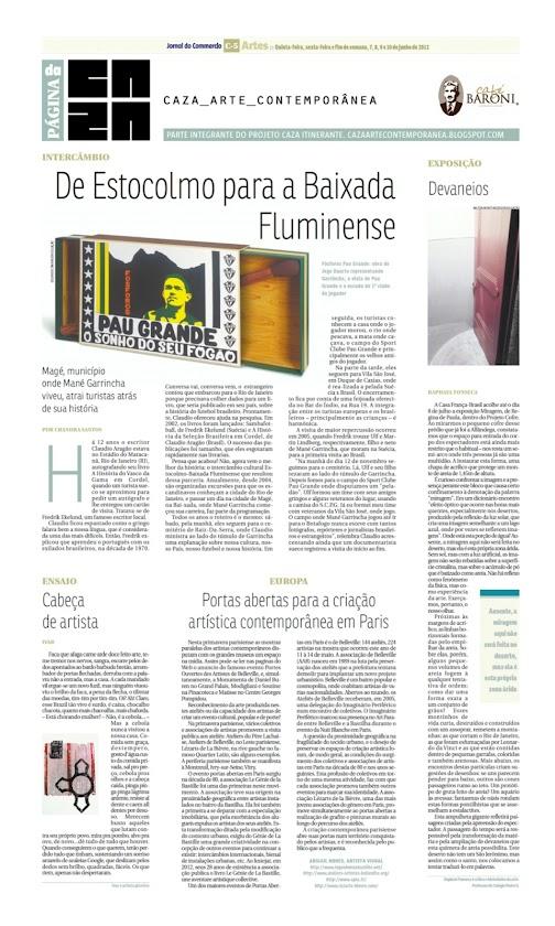 Página da Caza - 07 de Junho de 2012
