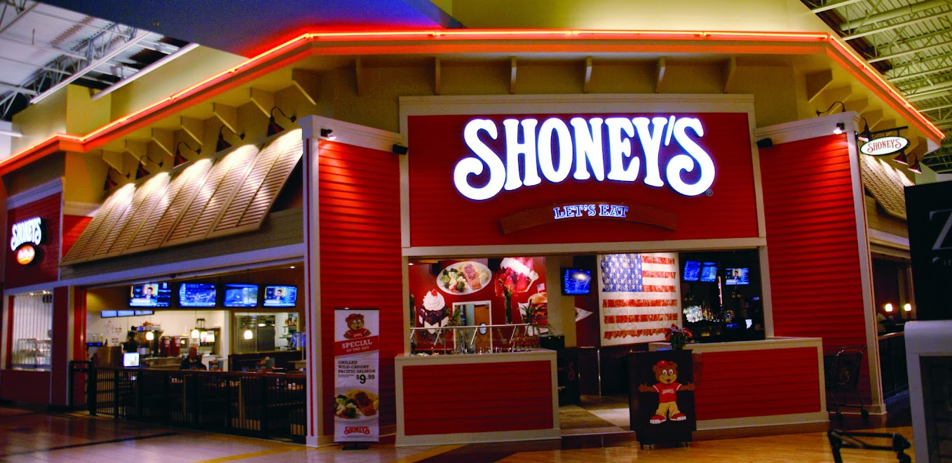 Shoney's in-mall prototype in Lawrenceville, Georgia