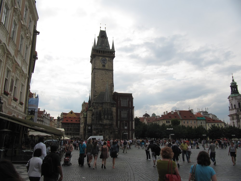Prague Main Square