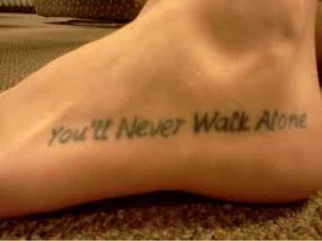 how to take care of my foot tattoo