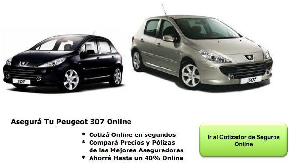 Seguros de Auto para Peugeot 307