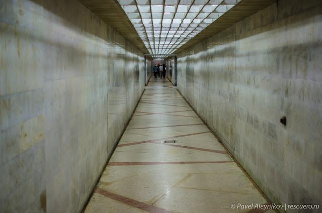 Тоннель лифта