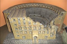 Maqueta del Teatro romano de Aspendos – Museo Arqueológico de Antalya