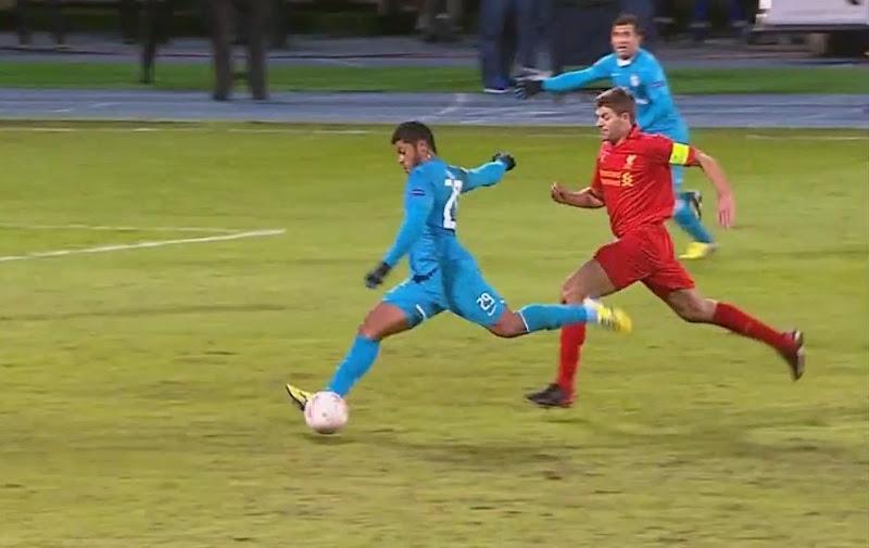 Hulk, Zenit - Liverpool