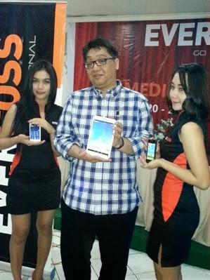 Evercross Menyiapkan Smartphone dengan Prosesor Octa Core