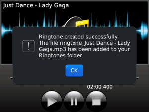 MP3 Ringtone Creator v3.5.9 BlackBerry