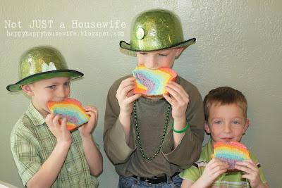 3 Rainbow Bread
