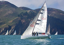 J/125 Double Trouble wins Pacific Cup