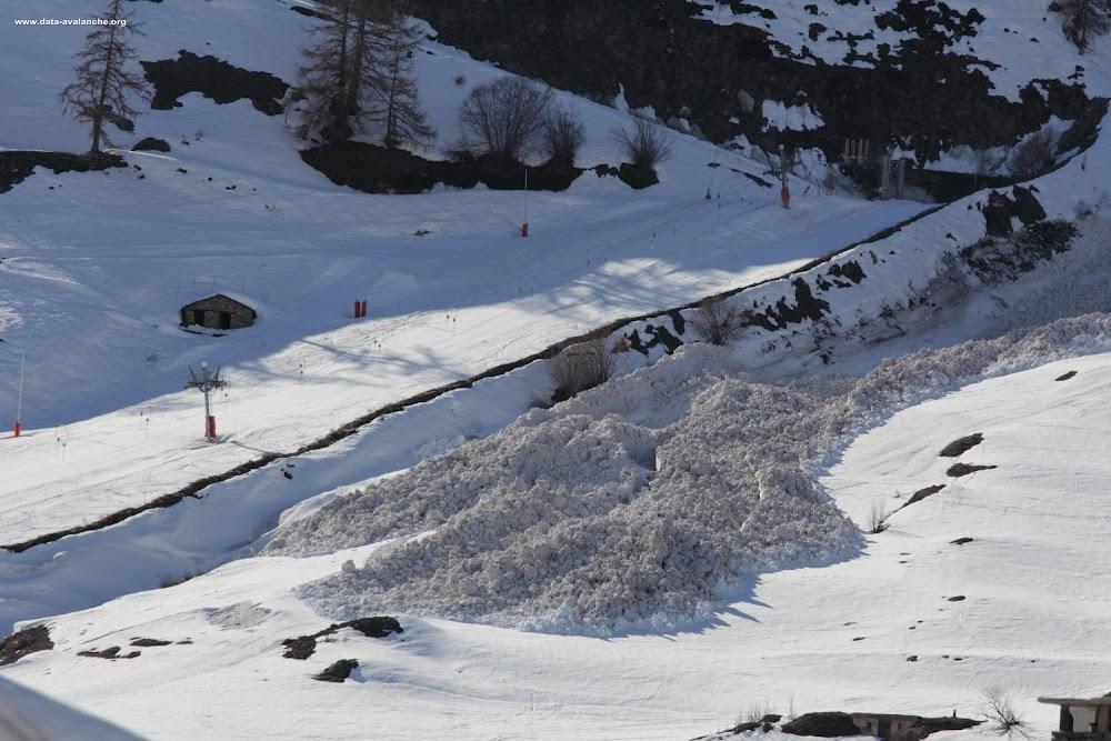 Avalanche Haute Maurienne, secteur Bessans, Claret - Photo 1