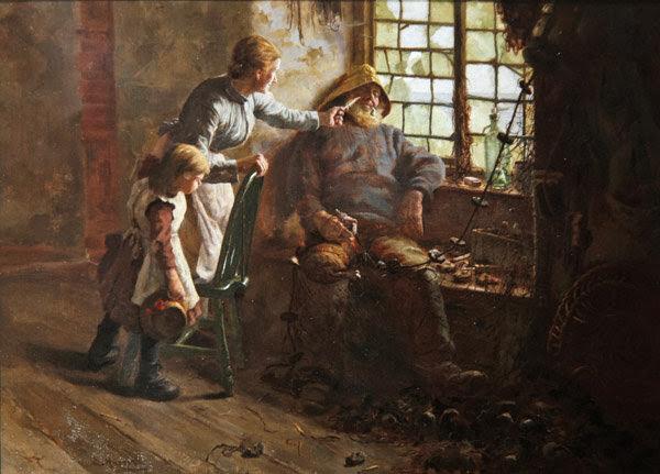 Edwin Harris - Resting