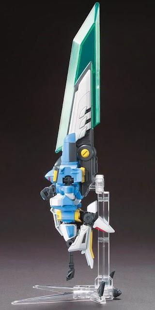 Đấu sĩ LBX Ikaros Force có thể biến thành cỗ máy chiến đấu
