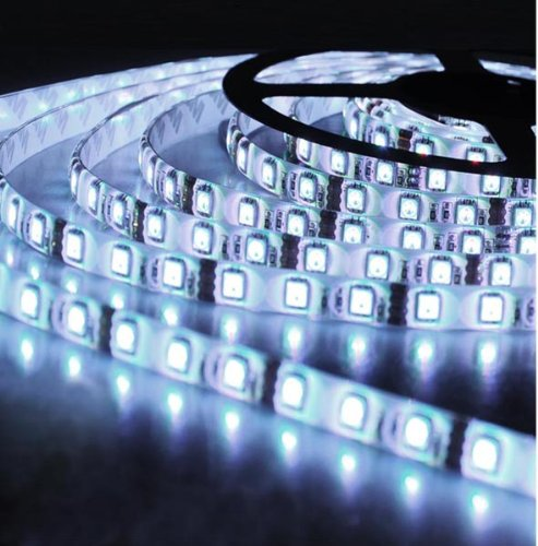 16.4Ft 5M 12V Cool White 6000 ¨C7000K LED Strip 5m Smd 5050 SMD LED 300 LED Strip Light Waterproof IP67 Light Roll