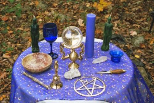 Cosas De Brujas El Altar
