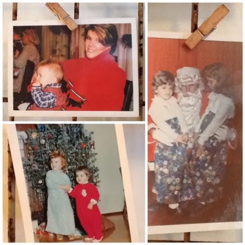 love displaying old photos during the Holidays   Robin Davis Studio