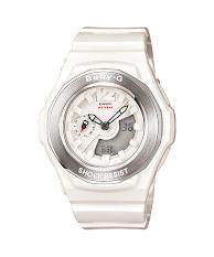 Jam Tangan Perempuan Warna Putih Casio Baby G : BA-120SP-7A