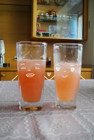 紅柚氣泡飲
