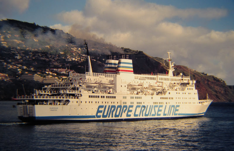 historic photo: Eurosun cruise ship