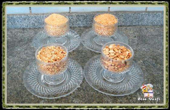 Bolo de amendoim com ganache 2