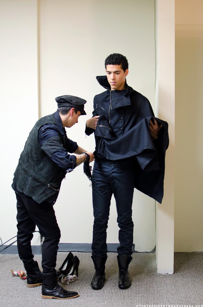 Model Jeremy with Nicolas Rivero