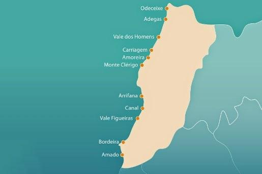 Praias do Concelho de Aljezur