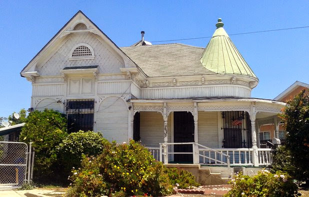 Boyle Heights Victorian Gets A Colorful Makeover The