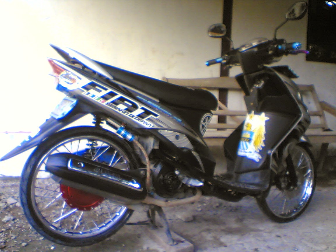 Mio Gt Modifikasi Warna
