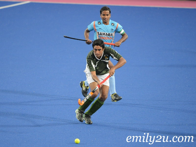 22nd SAS Cup 2013: Day 3: Match 2: India (3) – Pakistan (1)