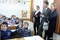 À l'école latine à Naplouse