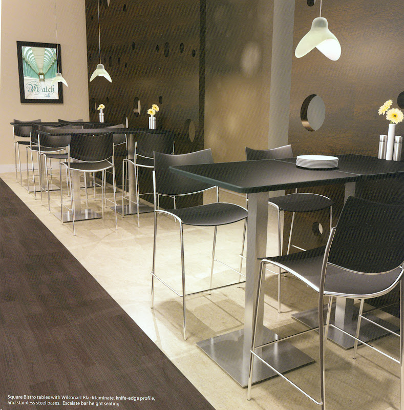 Mayline Bar Height Tables and Stools