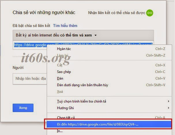 Cách nhúng tài liệu vào trang Web thông qua Google Drive 9