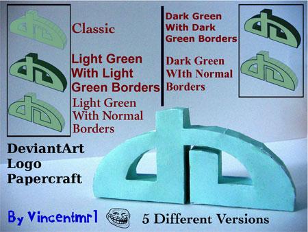 deviantART Papercraft logo