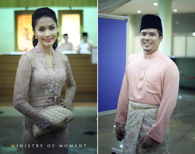 Scha Al Yahya dan Awal Ashaari di majlis perkahwinan Lisa dan Yusry
