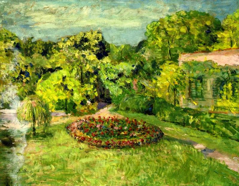 Édouard Vuillard - Le Massif pres la Maison