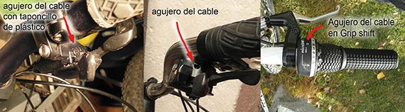 Cómo ajustar el cambio de la bici: El desviador trasero - pincha en la imagen para verla ampliada