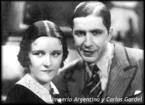 Imperio Argentina y Carlos Gardel