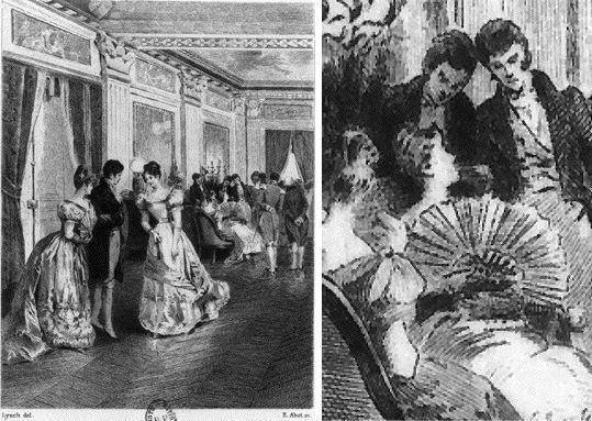 Le bal de Mme de Beauséant (Le Père Goriot, Quantin 1885) - Lynch Lynch, James Henry (mort en 1868) 1885