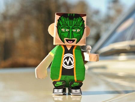 Dumpy Marsimoto Paper Toy