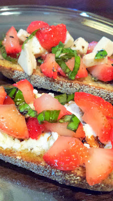 Strawberry and Cheese Bruschetta Recipes