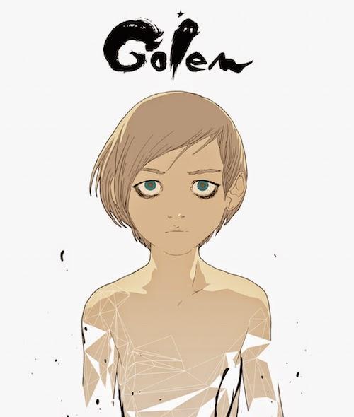 La copertina di Golem