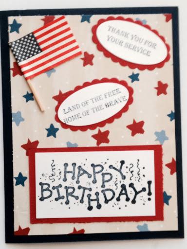 Birthday Card For A Favorite Veteran